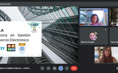 """CGCE se encuentra realizando charlas online a nuestros clientes sobre """"CAMBIOS EN LA COMPRA PÚBLICA"""""""